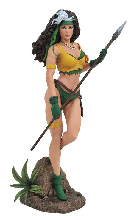 MARVEL GALLERY ROGUE SAVAGE LAND COMIC PVC STATUE (C: 1-1-2)
