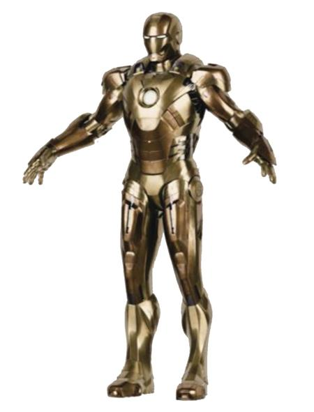 IRON MAN 3 MARK XXI MIDAS 1/12 SCALE DIECAST AF (Net) (C: 1-