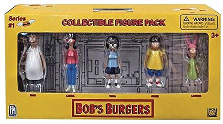 BOBS BURGERS COLLECTIBLE 5PK FIGURE SET 12PC DISP (C: 1-1-2)