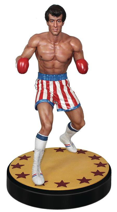 ROCKY RED WHITE & BLUE SHORTS VER 1/4 SCALE STATUE (C: 0-1-2