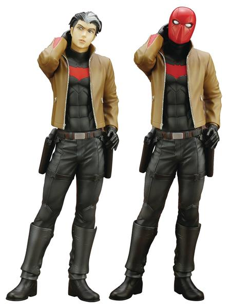DC COMICS RED HOOD IKEMEN STATUE W/ BONUS PART (C: 1-1-2)