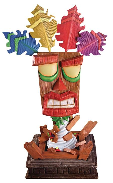CRASH BANDICOOT AKU AKU LIFE SIZE MASK (C: 1-1-2)