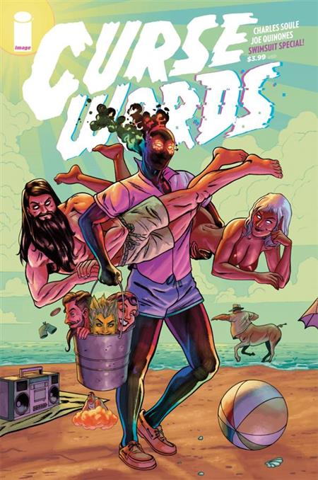 CURSE WORDS SUMMER SPECIAL #1 CVR B QUINONES (ONE-SHOT) (MR)