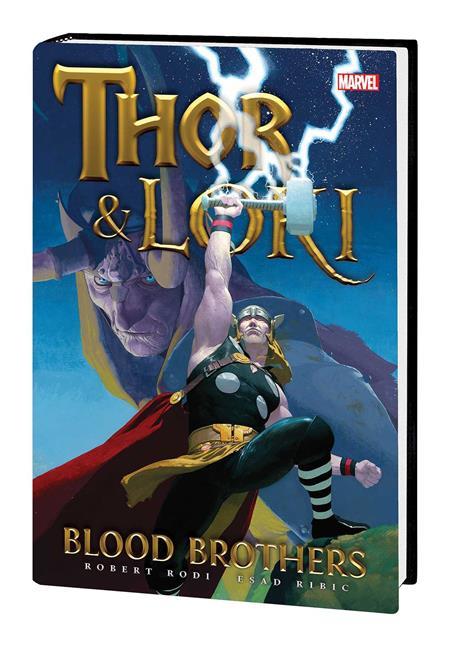 THOR AND LOKI HC BLOOD BROTHERS NEW PTG