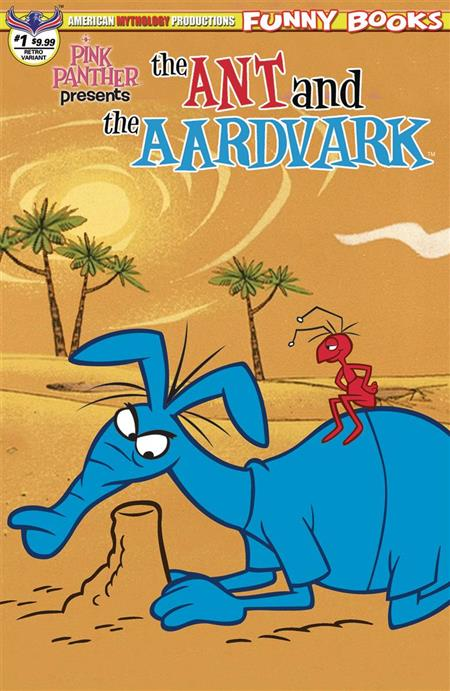 PINK PANTHER PRESENTS THE ANT & THE AARDVARK #1 FLASHBACK AN