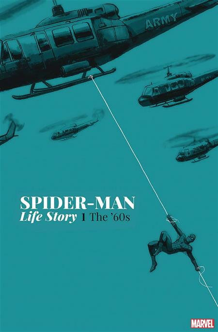 DF SPIDERMAN LIFE STORY #1 SGN BAGLEY
