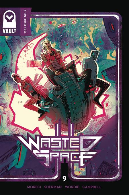 WASTED SPACE #9 (MR)