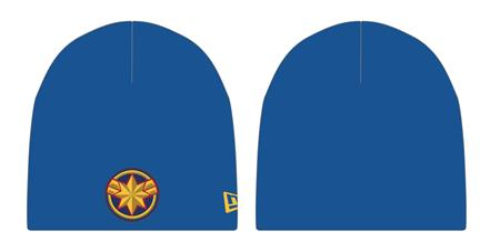 CAPTAIN MARVEL MOVIE SYMBOL PX KNIT BEANIE (C: 1-1-2)
