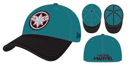 CAPTAIN MARVEL MOVIE STARFORCE PX 3930 FLEXFIT CAP (C: 1-1-1