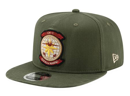 CAPTAIN MARVEL MOVIE PILOT SNAP BACK CAP (C: 1-1-2)