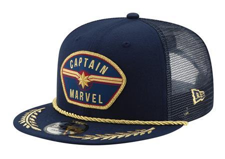 CAPTAIN MARVEL MOVIE PATCH SNAP BACK CAP (C: 1-1-2)