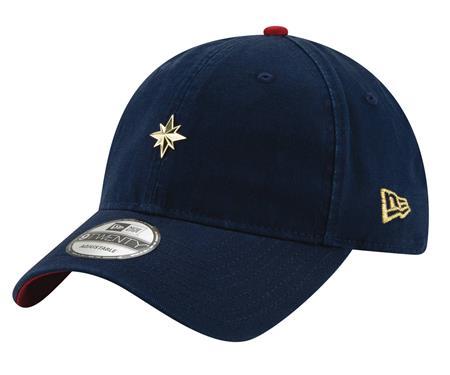 CAPTAIN MARVEL MOVIE MINI BADGE ADJUSTABLE CAP (C: 1-1-2)