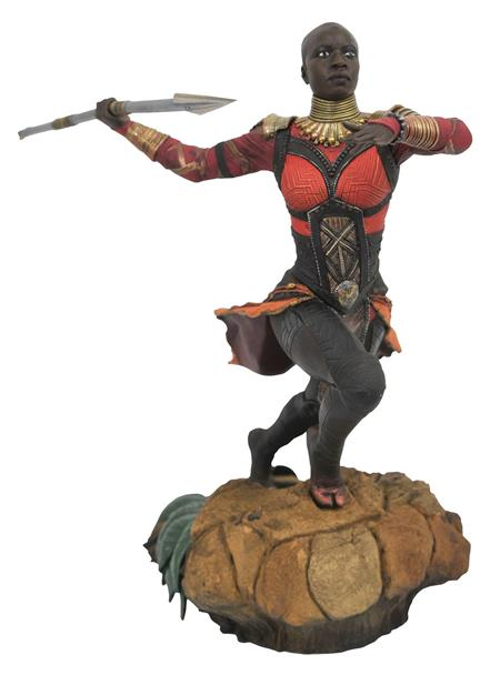 MARVEL GALLERY BLACK PANTHER MOVIE OKOYE PVC FIGURE (C: 1-1-