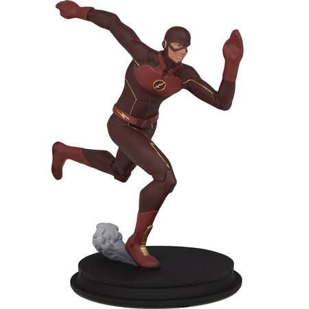 DC CW FLASH ANIMATED FLASH STATUE (C: 1-1-2)