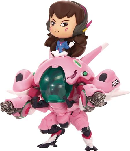 OW CUTE BUT DEADLY DVA WITH MEKA VINYL FIGURE (C: 1-1-2)