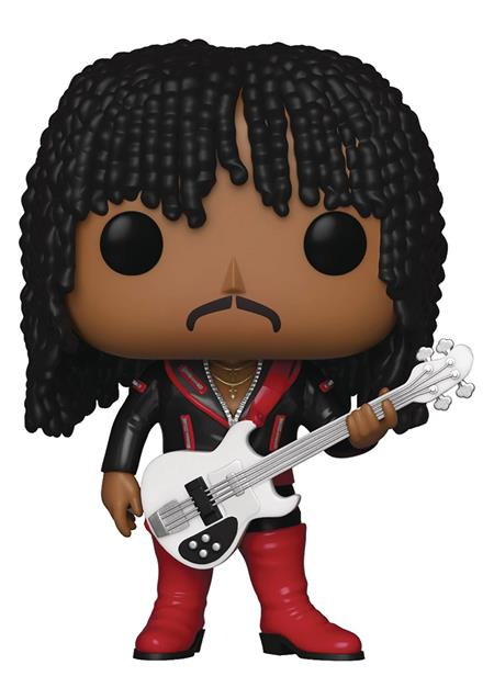 POP ROCKS RICK JAMES VINYL FIGURE (C: 1-1-2)
