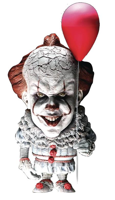 IT PENNYWISE DEFO REAL SOFT VINYL STATUE (Net) (C: 0-1-2)