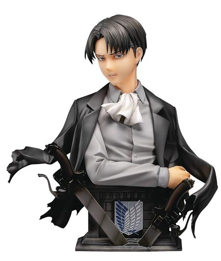 ATTACK ON TITAN LEVI 1/3 PMMA & PU STATUE COLOR VER (C: 1-1-