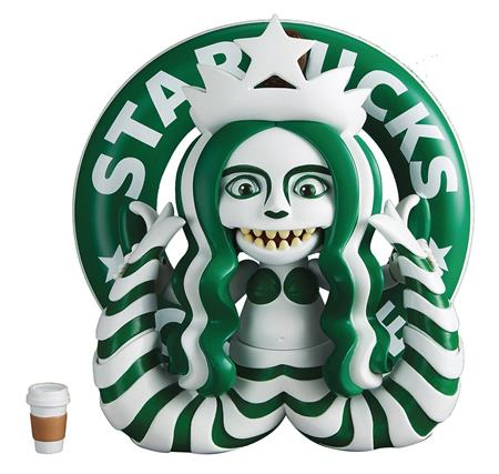 STINGRAYZ EEK SERIES 3 STARBUCKS MERMAID FIGURE (Net)