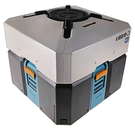 OVERWATCH JUMBO LOOTBOX 10IN CERAMIC COOKIE JAR (C: 1-1-2)