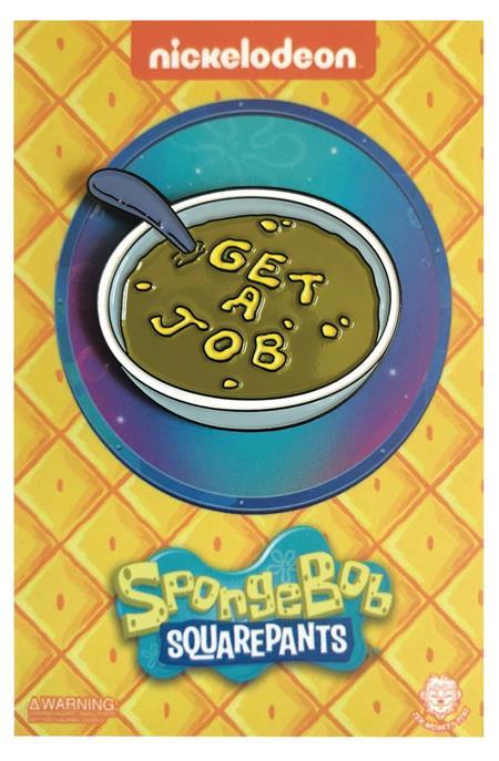 SPONGEBOB SQUAREPANTS GET A JOB PIN (C: 1-1-2)