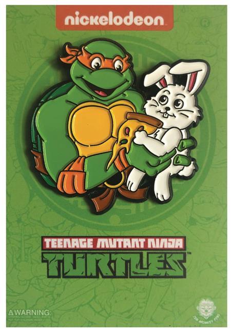 TEENAGE MUTANT NINJA TURTLE WITH BUNNY PIN (C: 1-1-2)