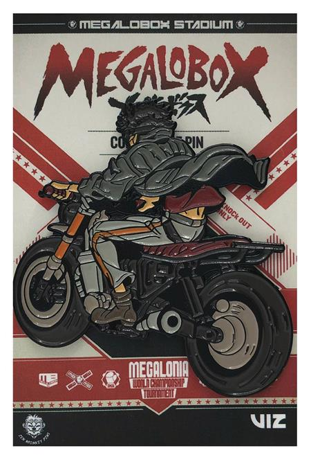 MEGALOBOX DUO TONE BIKE PIN (C: 1-1-2)
