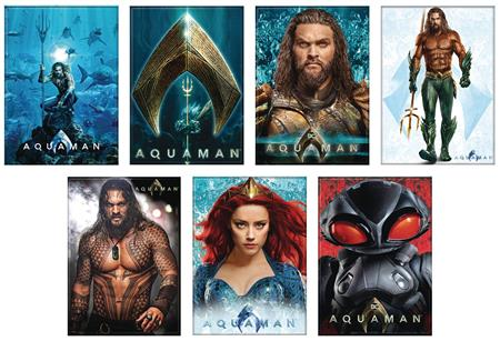 AQUAMAN MOVIE 48PC MAGNET ASST (C: 1-1-2)