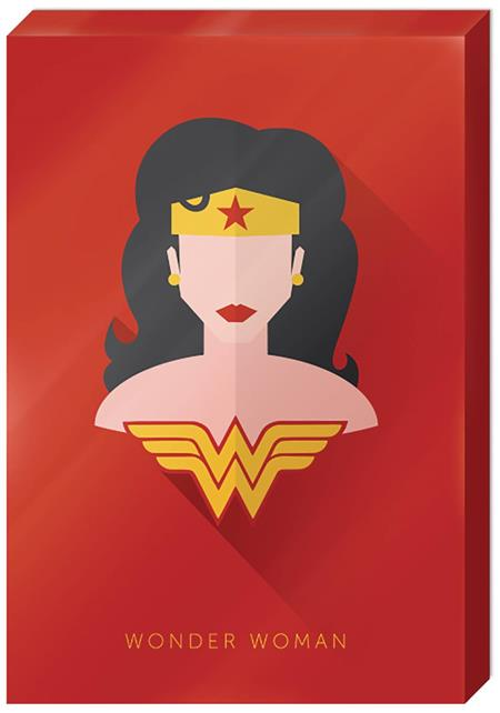 DC WONDER WOMAN HIGH GLOSS 13X19 IN CANVAS WALL ART (C: 1-1-