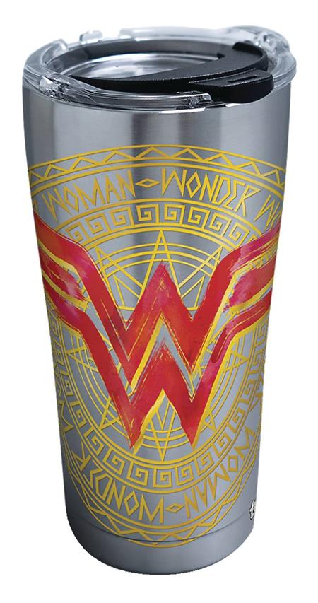 WONDER WOMAN LINEAGE STAINLESS STEEL 20OZ TUMBLER W/LID (C:
