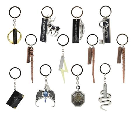HARRY POTTER WAVE 1 COLLECTIBLE KEYCHAIN 24PC BMB DS (C: 1-1