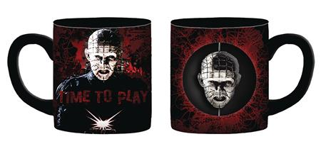 HELLRAISER TIME TO PLAY 20OZ CERAMIC SPINNER MUG (C: 1-1-2)