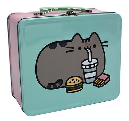 PUSHEEN FAST FOOD TIN LUNCH BOX (C: 1-1-2)