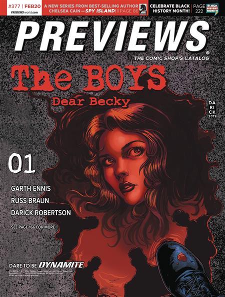 PREVIEWS #379 APRIL 2020 * Includes a FREE DC Previews