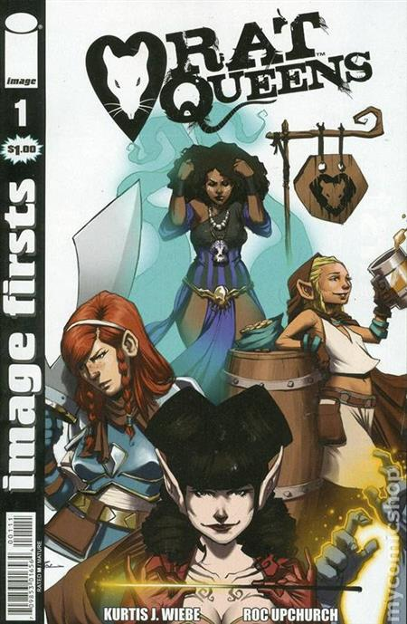 IMAGE FIRSTS RAT QUEENS #1 (MR)