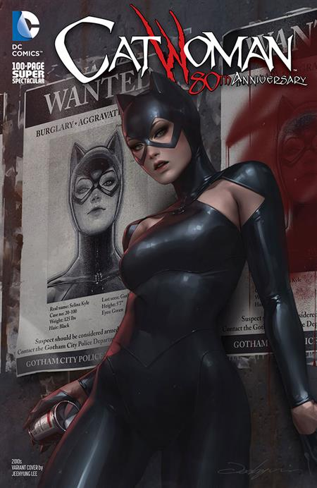 CATWOMAN 80TH ANNIV 100 PAGE SUPER SPECT #1 2010S JEEHYUNG L