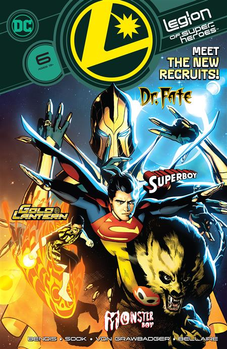 LEGION OF SUPER HEROES #6