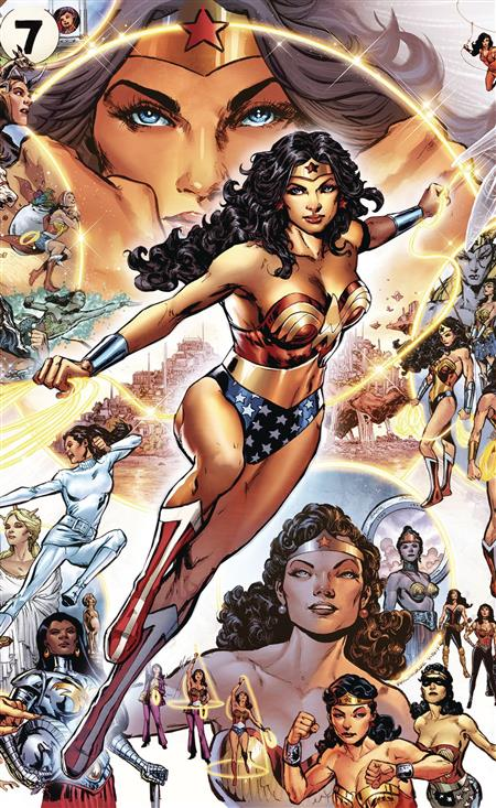 WONDER WOMAN THROUGH THE YEARS HC