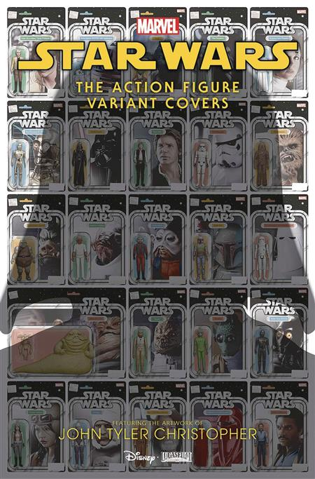 STAR WARS ACTION FIGURE VARIANT COVERS #1 CHRISTOPHER VAR