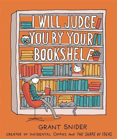 I WILL JUDGE YOU BY YOUR BOOKSHELF GN (C: 0-1-0)