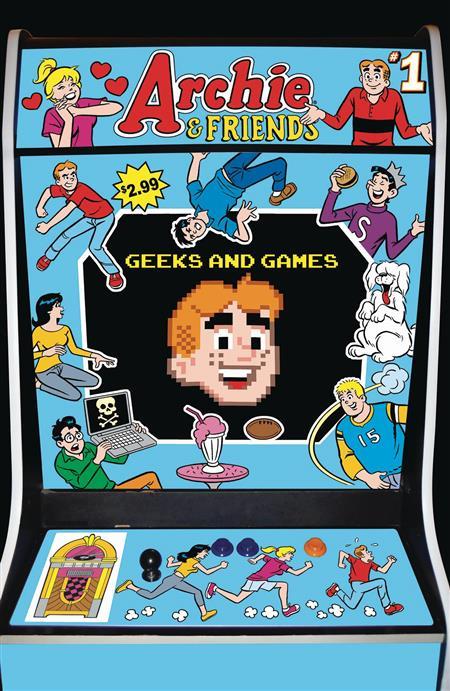 ARCHIE & FRIENDS GEEKS & GAMES #1