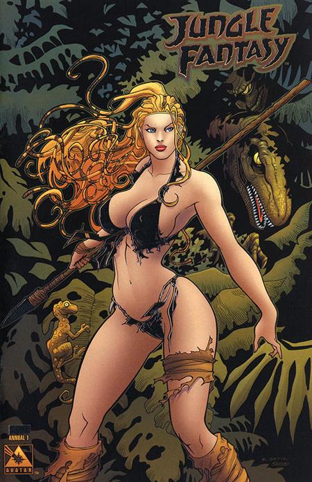 JUNGLE FANTASY (2002) ANNUAL #1 PLAT FOIL VAR (MR)