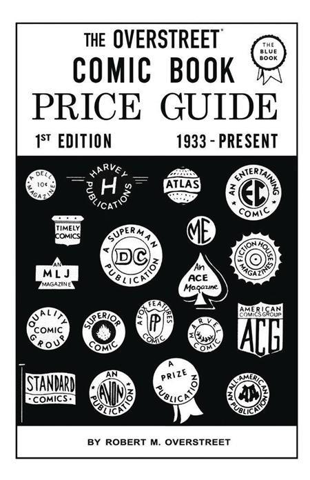 OVERSTREET COMIC BOOK PRICE GUIDE #1 FACSIMILE ED HC