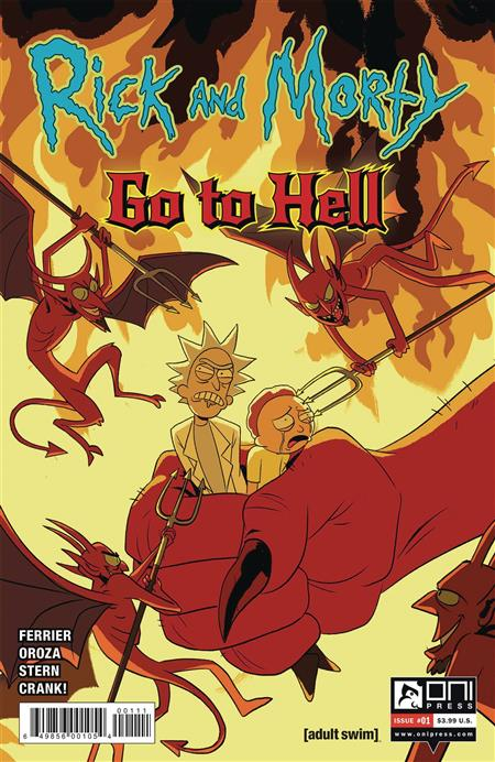 RICK AND MORTY GO TO HELL #1 CVR A OROZA
