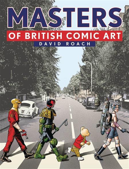 MASTERS OF BRITISH COMIC ART HC (C: 0-1-0)