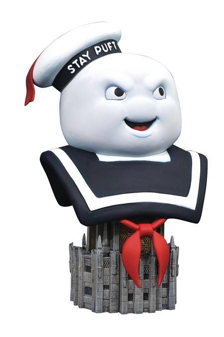 GHOSTBUSTERS LEGENDS IN 3D STAY PUFF 1/2 SCALE BUST (C: 1-1-