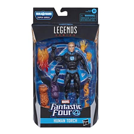 FANTASTIC FOUR LEGENDS 6IN HUMAN TORCH AF CS (Net) (C: 1-1-2
