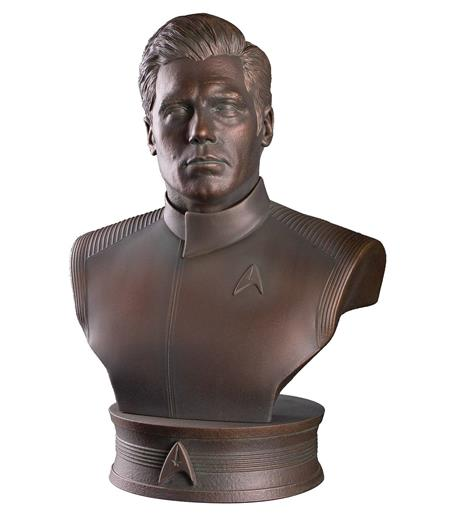 STAR TREK TOS CAPTAIN CHRISTOPHER PIKE 1/2 SCALE BUST (Net)