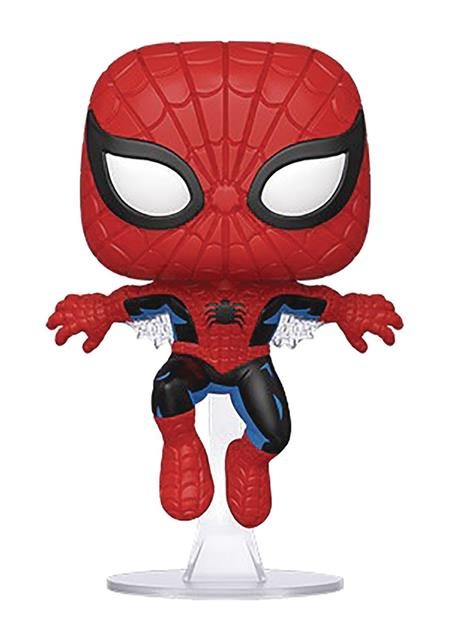 POP MARVEL 80TH FIRST APPEARANCE SPIDER-MAN VIN FIG (C: 1-1-