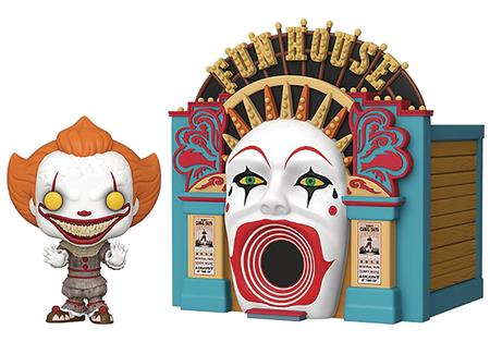 POP TOWN IT 2 DEMONIC PENNYWISE W/ FUNHOUSE VIN FIG (C: 1-1-